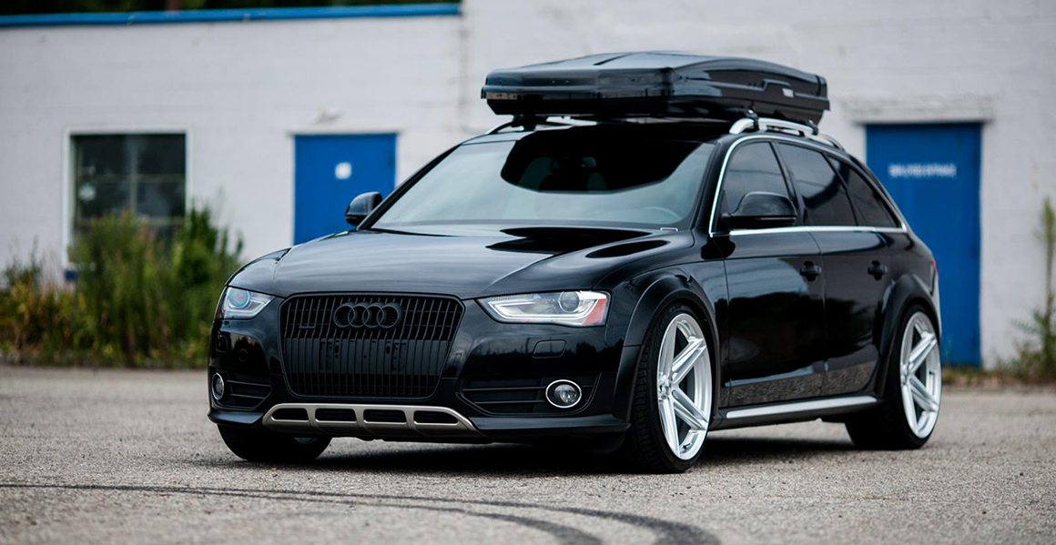 Vossen VFS-5 Installed on Audi Allroad (2)