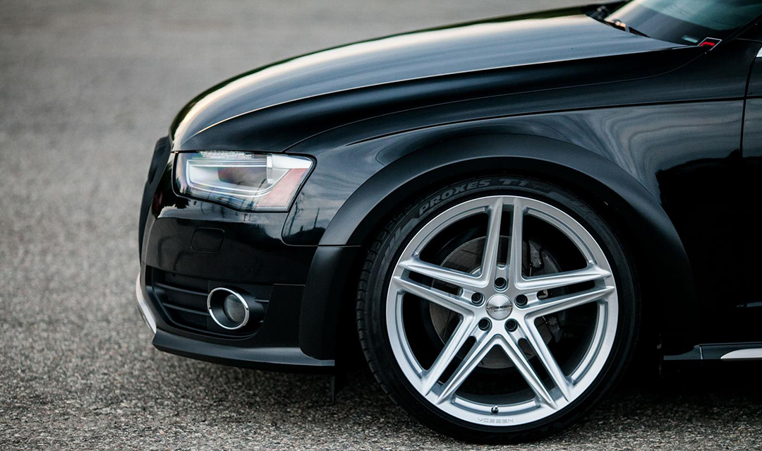 Vossen VFS-5 Installed on Audi Allroad