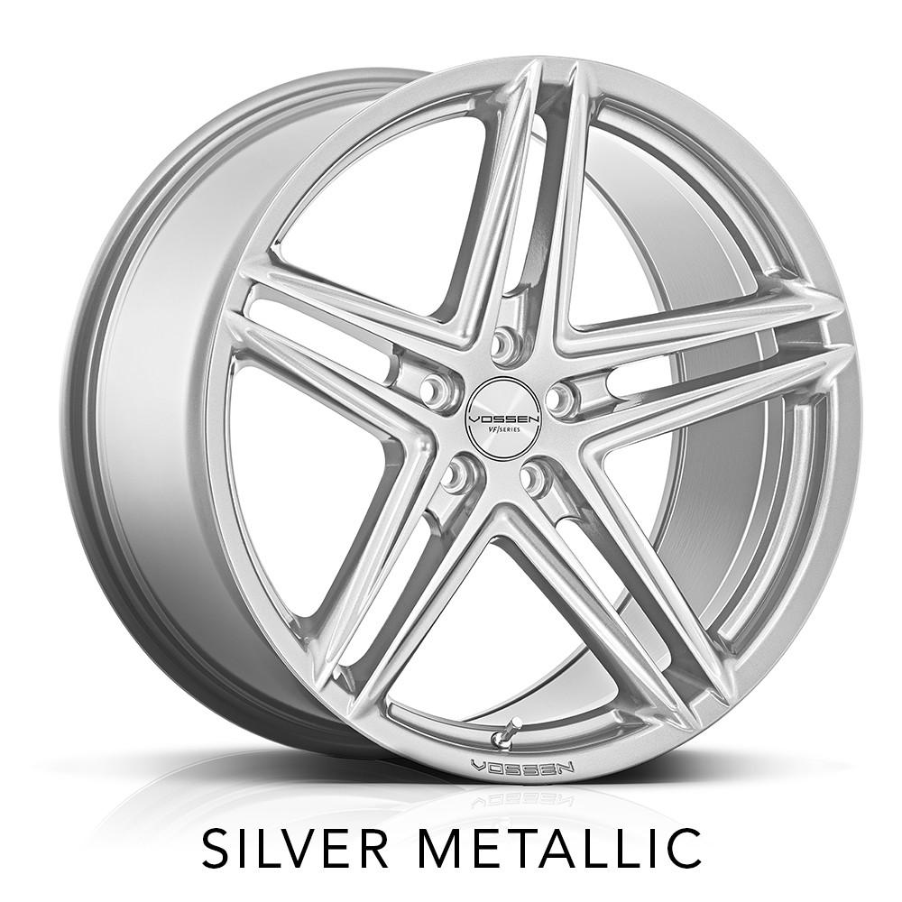 infiniti q50 vossen vfs5 vfs-5 5 spoke split 5 spoke silver