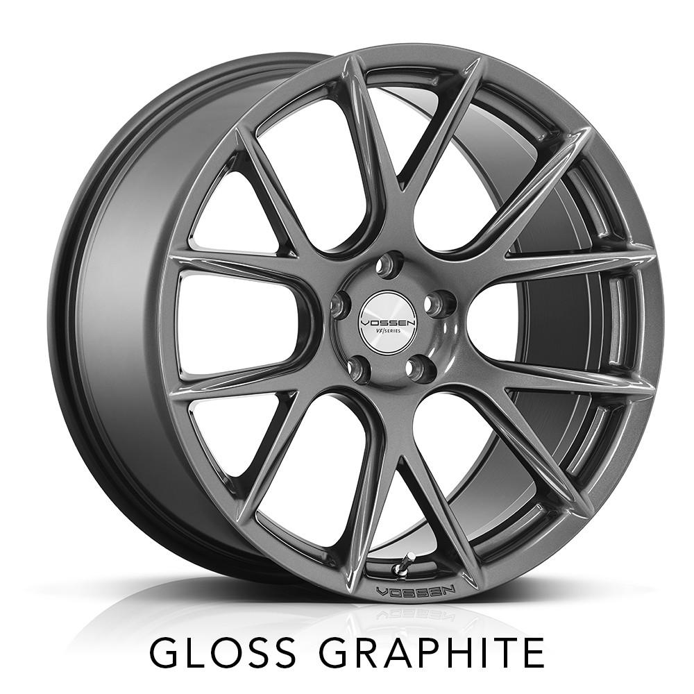 infiniti q50 vossen vfs6 vfs-6 6 spoke mesh graphite