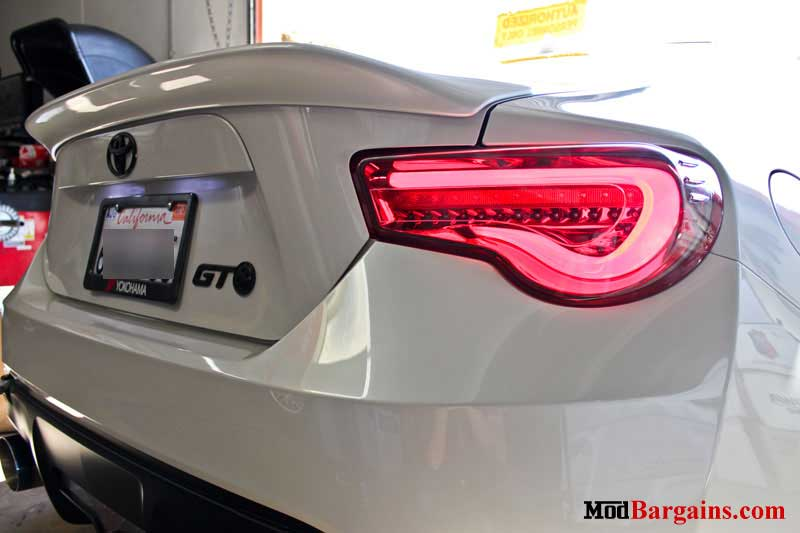 Valenti LED Tail Lights Scion FR-S Subaru BRZ Test Fit