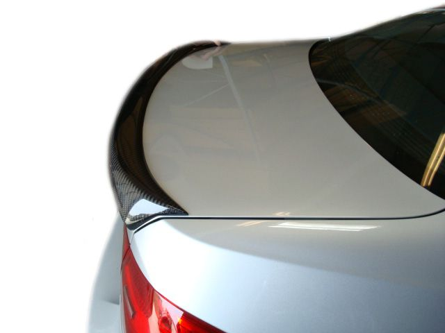 BMW E92 Carbon Fiber Trunk Spoiler