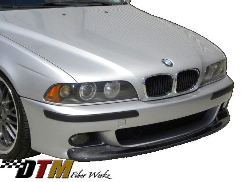 DTM Fiber Werkz BMW E39 5-Series CSL Style Front Lip [CFRP]