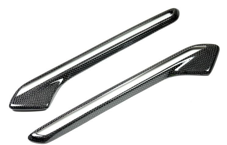 Carbon Fiber Fender Light Trim Cover for BMW M6 (2)