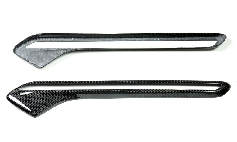 Carbon Fiber Fender Light Trim Cover for BMW M6 (3)