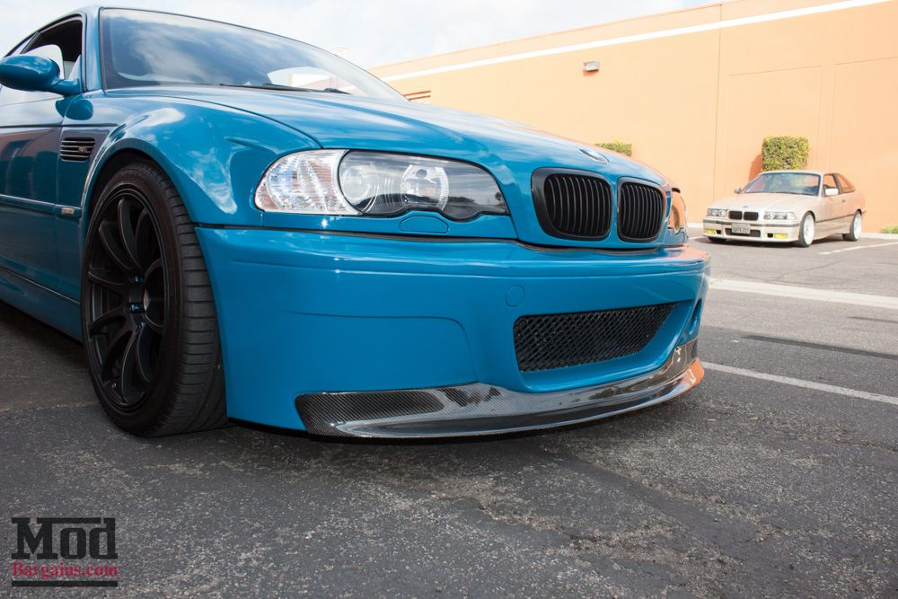 Carbon Fiber 1-Piece Front Lip for 1999-2006 BMW 3-Series [E46] w/ CSL Front Bumper