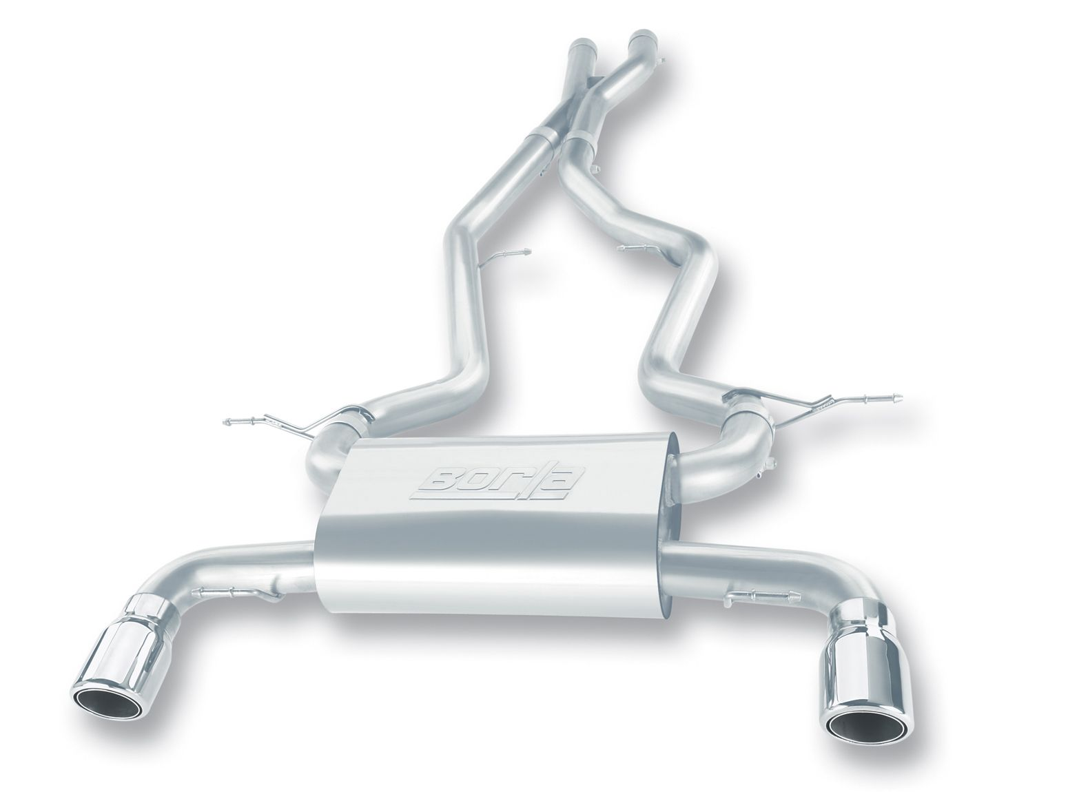 Borla Cat-Back Exhaust for 2007-12 BMW 335i / XI [E90/E92] (140246 140228) AT/MT