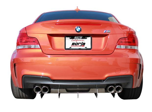 Diffuser (Metal) for 2012-13 BMW 1M [E82] by Borla (77010)