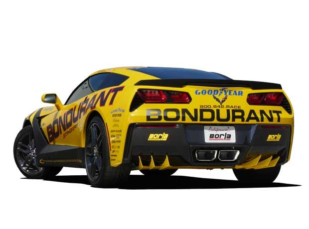 Diffuser (Metal) for 2014+ Chevrolet Corvette Stingray [C7] by Borla (77015)