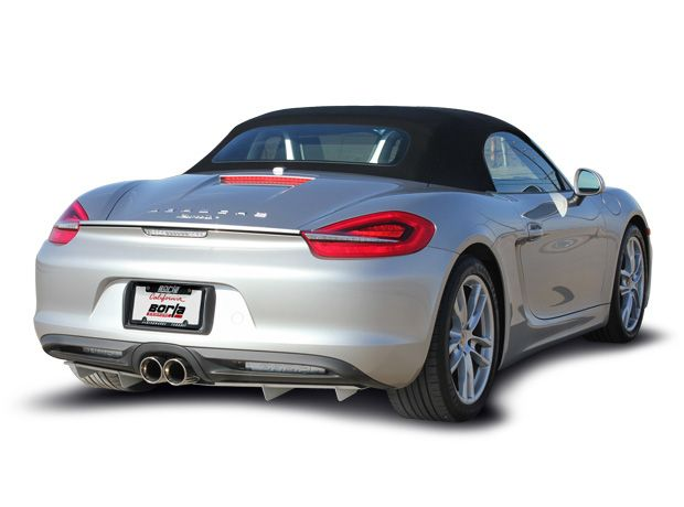 Borla Cat-back Exhaust for 2014+ Porsche Cayman/S /Boxster/S [981] w/4in Tips 140534