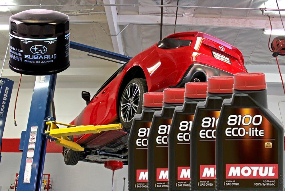 Motul Oil Change Kit for FRS / BRZ [ZN6/ZC6] 6Qts Motul 8100 Eco-Lite 0W-20