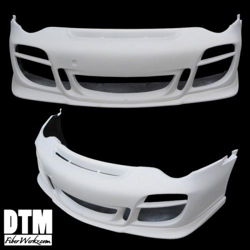 GT Style Front Bumper for 2002-04 Porsche 911/Turbo/Carrera [996] by DTM FiberWerkz