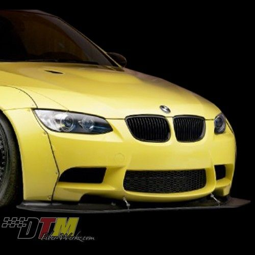 Carbon Fiber Front Lip for 2007-12 BMW M3 [E90/E92] GT Style by DTM Fiber Werkz