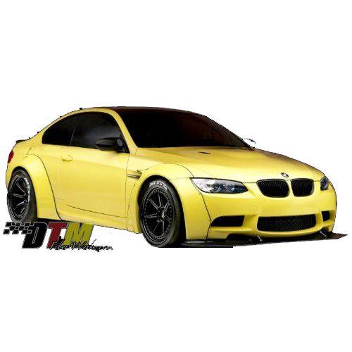 DTM Fiber Werkz BMW E36 Rivet On Front And Rear Fender Flares [FRP]