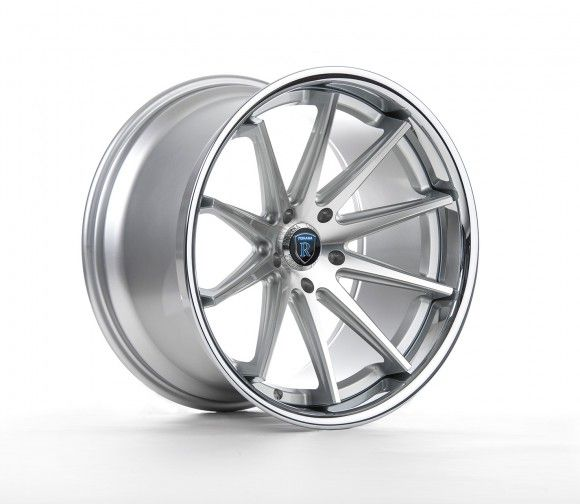 Rohana RC10 Wheels for BMW 5x120mm Machine Silver 19/20/22in
