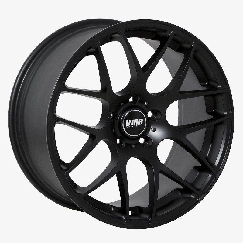 vmr v710 wheels matte black cadillac 19 20 5x120mm Plastic Tires for Docks type