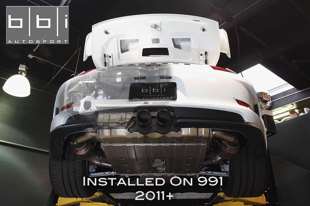 BBi Autosport 991/997 StreetCup Exhaust Bypass