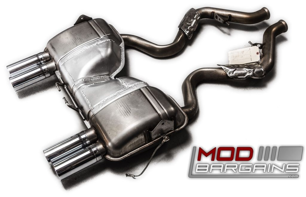 Modded OEM Exhaust for 2008-12 BMW M3 [E90/E92/E93]