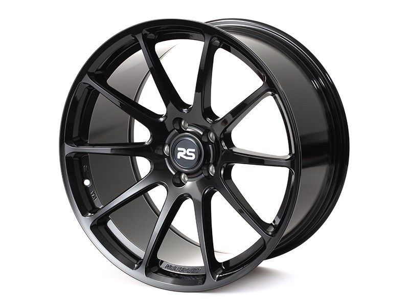 Neuspeed RSe102 Gloss Black 19x9 ET40 or 20x9 ET40 5x112mm Wheels for Audi/VW/Mercedes