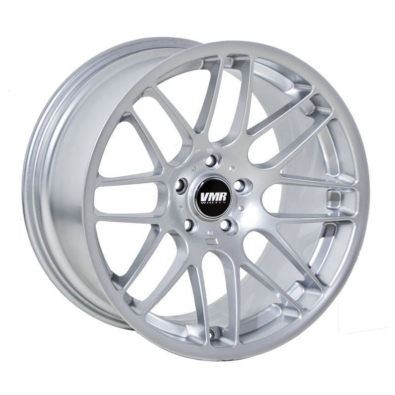 VMR VB3/V703 C S L Look Wheels Silver Staggered 18x8.5 Front 18x9.5 Rear - Fits Non-M + M3 Cars!