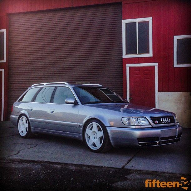 Old Audi Wagon with fifteen52 tarmac wheels