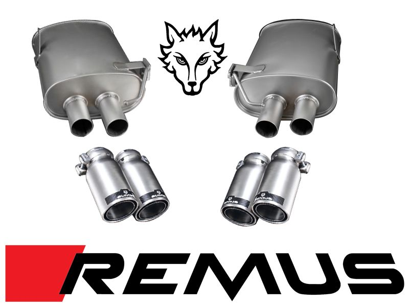 REMUS Sport Exhaust System for 2008-12 BMW M3 [E90/E92/E93] 089107 0584CSL-US/R