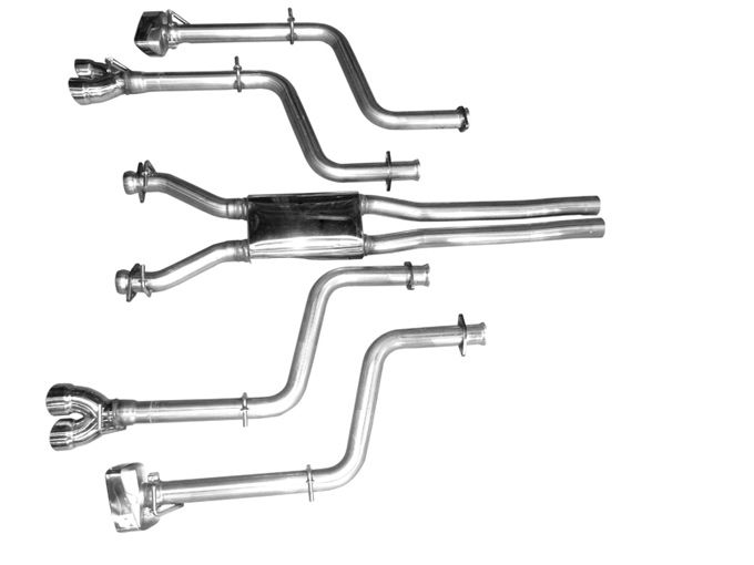 Solo Performance Mach X Cat Back Exhaust for 2008-15 Dodge Challenger R/T - MANUAL [LC]