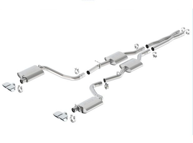 Borla Cat-Back Exhaust for 2015-16 Dodge Challenger R/T [LC] 140626 140627 140628