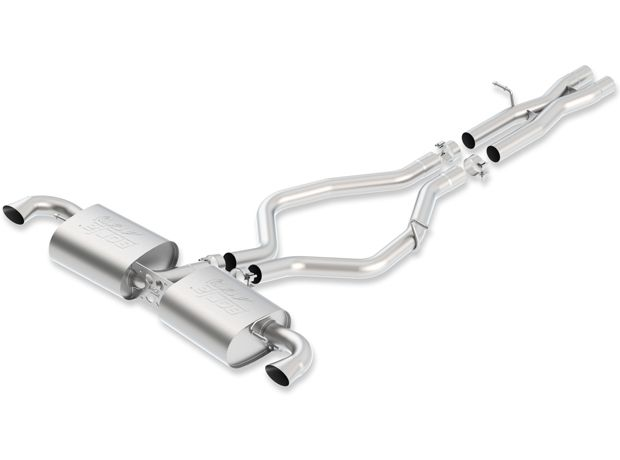 Borla Cat-back Exhaust for 2012-13 Audi TT-RS [8J] 2.5L Turbo 140473