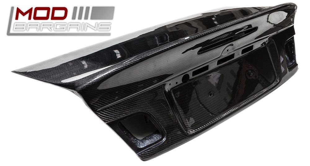 Alternate View Carbon Fiber CSL Style Boot Lid for BMW E46