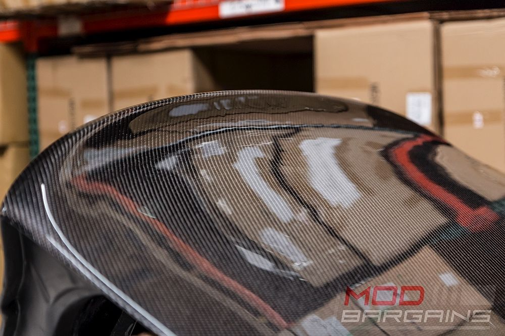 Detail Photo of Carbon Fiber CSL Style Boot Lid for BMW E46