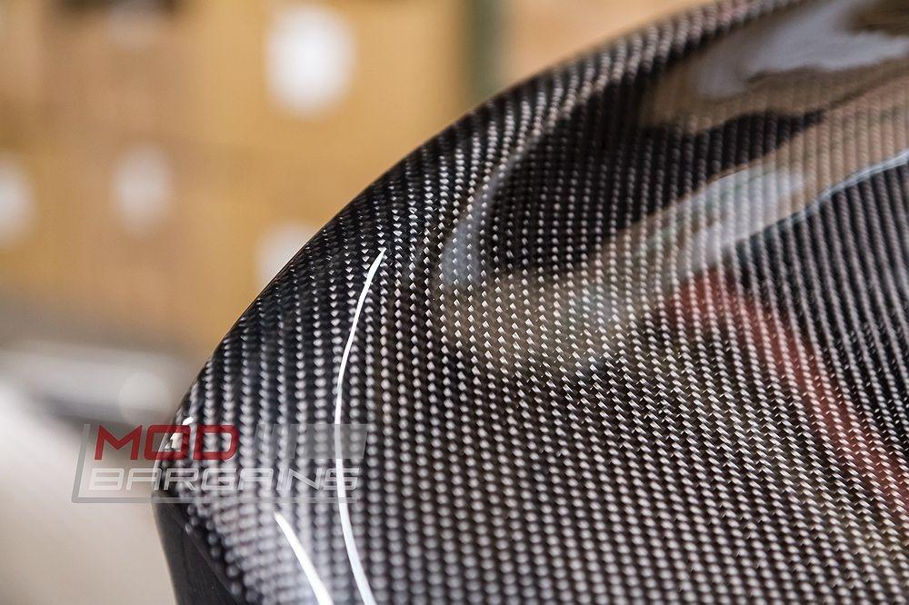 Carbon Fiber Texture Carbon Fiber CSL Style Boot Lid for BMW E46