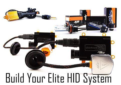 Morimoto Elite HID Systems for H1, H4, H7, H8, H11, H13, 9005, 9006, 9008, D1S, D2S, D3S