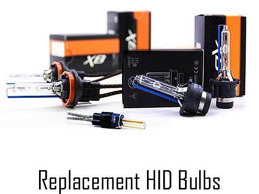Morimoto Replacment XB HID Bulbs for H1, H4, H7, H8, H11, H13, 9005, 9006, 9008, D1S, D2S, D3S