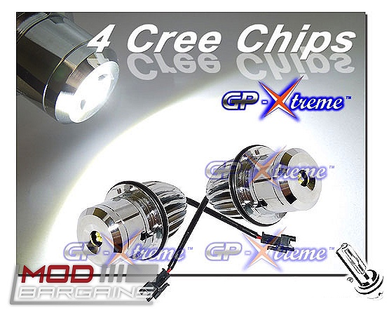 32W Cree LED Bulbs for BMW Angel Eyes