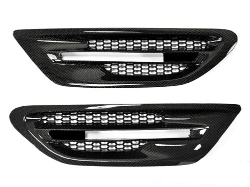 Carbon Fiber M5 Side Grilles for 2010+ BMW M5 [F10] BM-0073CF