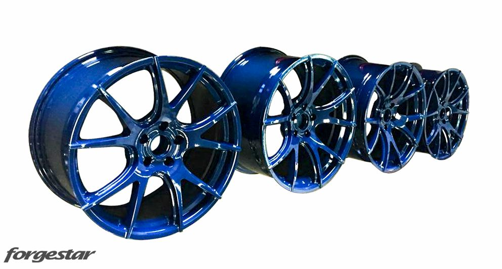 Forgestar CF5V Wheels Magnesium Blue for BMW 19in 20in 5x120mm