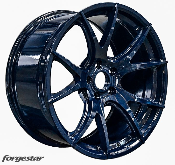 Forgestar CF5V Wheels Midnight Blue for BMW 19in 20in 5x120mm