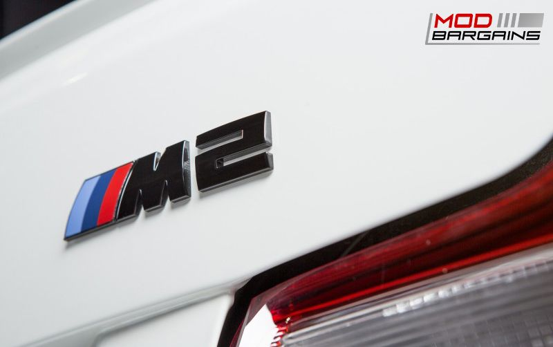 Black Trunk Emblem BMW M2 F87 (2)