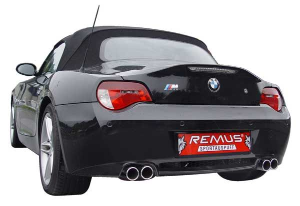 Remus Sport Exhaust For 2006 08 Bmw Z4m E86 M85 089106