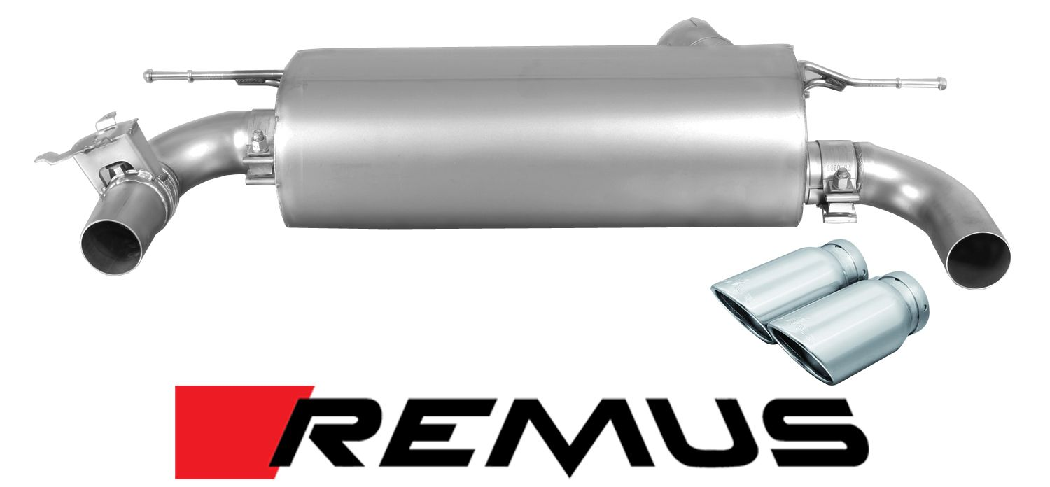Remus Sport Exhaust for 2016+ BMW 340i/440i [F30/F32/F36] 008815 1500