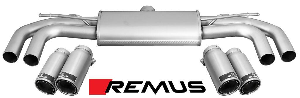 Remus Sport Exhaust for 2014+ Audi S3 [8V] 047014 1500 + 0046 XX