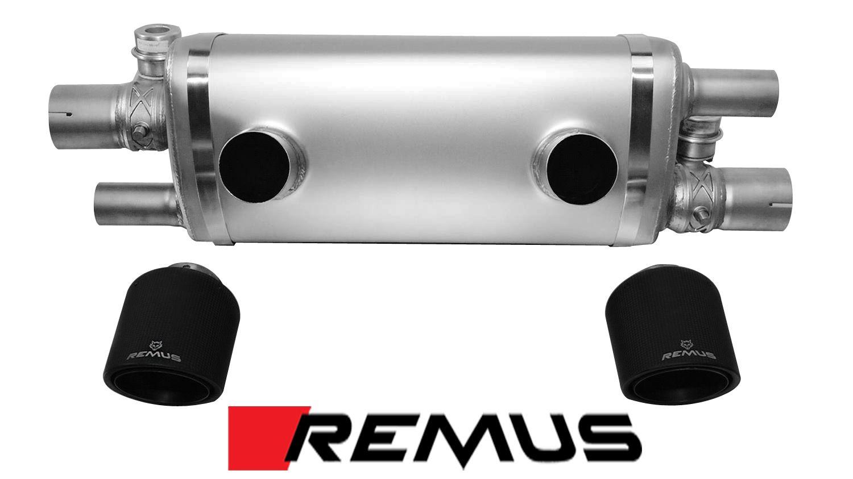 Remus Sport Exhaust for 2015+ Porsche 911 Carrera / S [991.2] 3.0T 688015 1500 + 0526 70CS