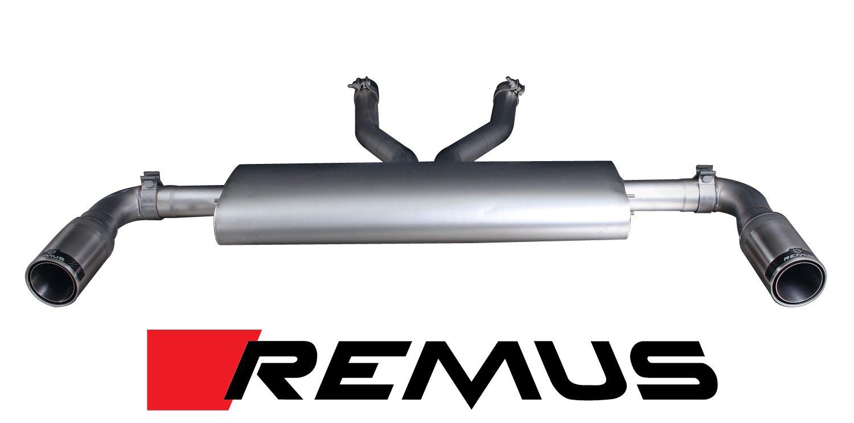Remus Exhaust System for 2006+ Audi Q7 w/ 4.2L V8, 4.2 TDI, 3.0TDI