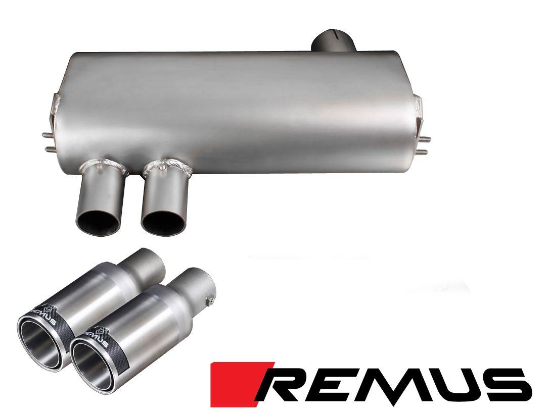remus sport exhaust for 2005 11 bmw 325i 328i 330i e90 e91 088205 199 0152 24. Black Bedroom Furniture Sets. Home Design Ideas