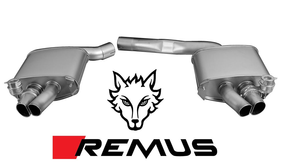 Remus Valved Sport Exhaust for 2010+ Audi RS5 [B8] 049010 0500LR