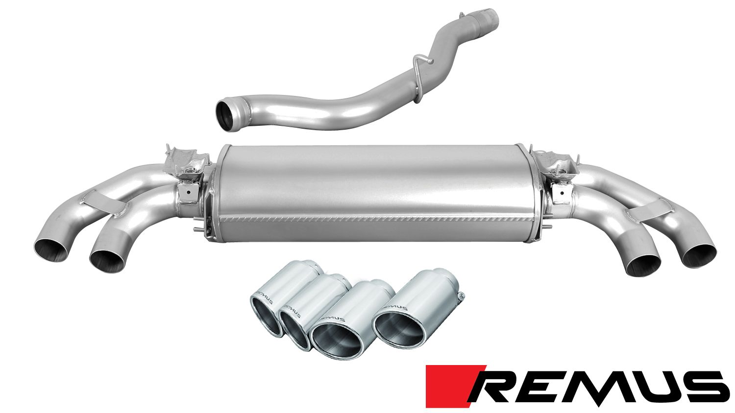 Remus SPORT Exhaust for 2014+ Audi TTS [8S] 046014 1500 + 045114 0000 + 0046 70SS