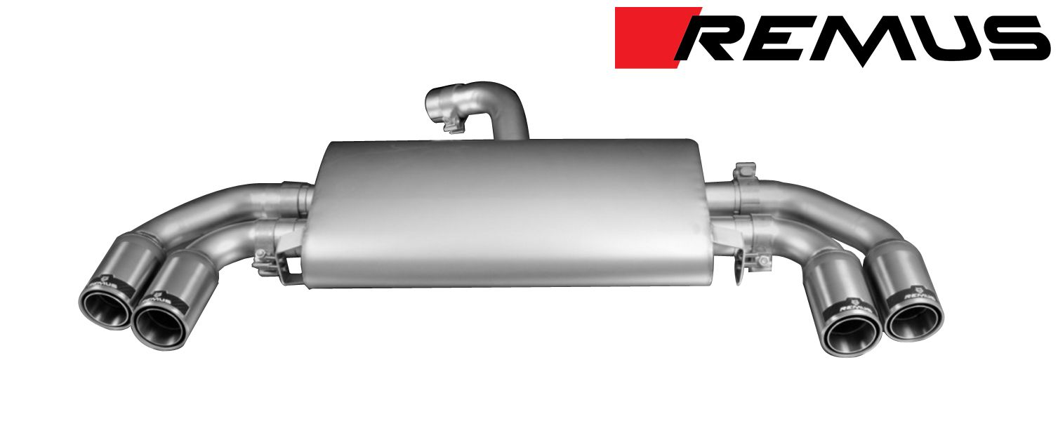 Remus SPORT Exhaust for 2014+ Audi TT [8S] Coupe 045014 1500
