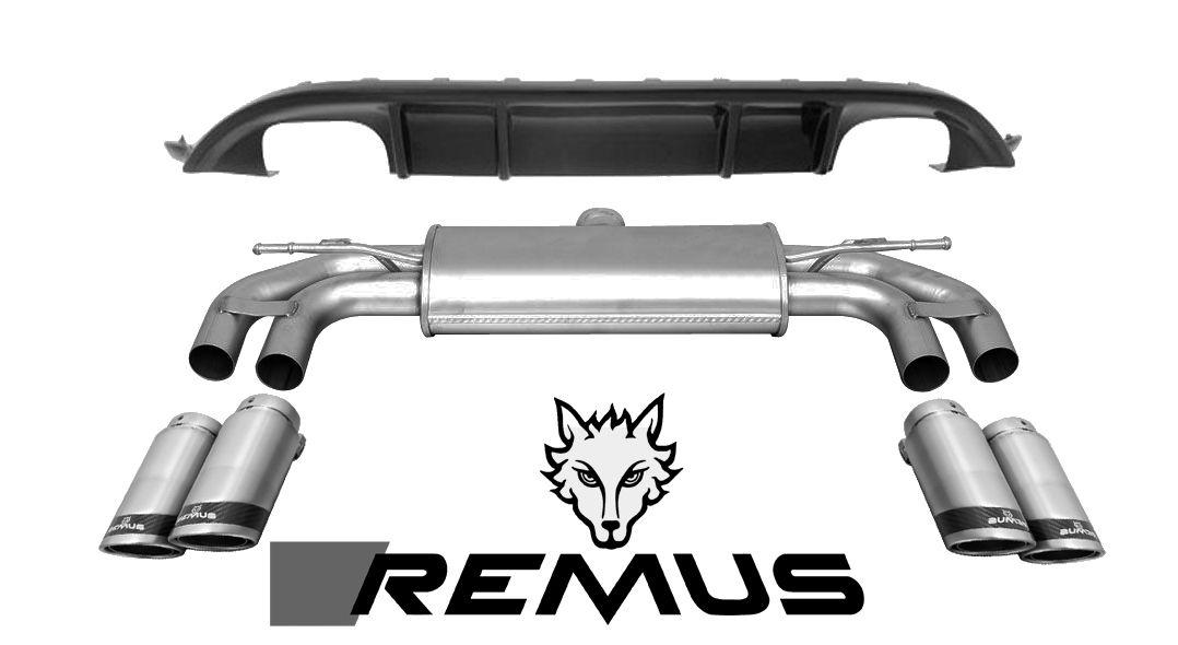 Remus Sport Exhaust & Diffuser 2015+ MK VII GTI