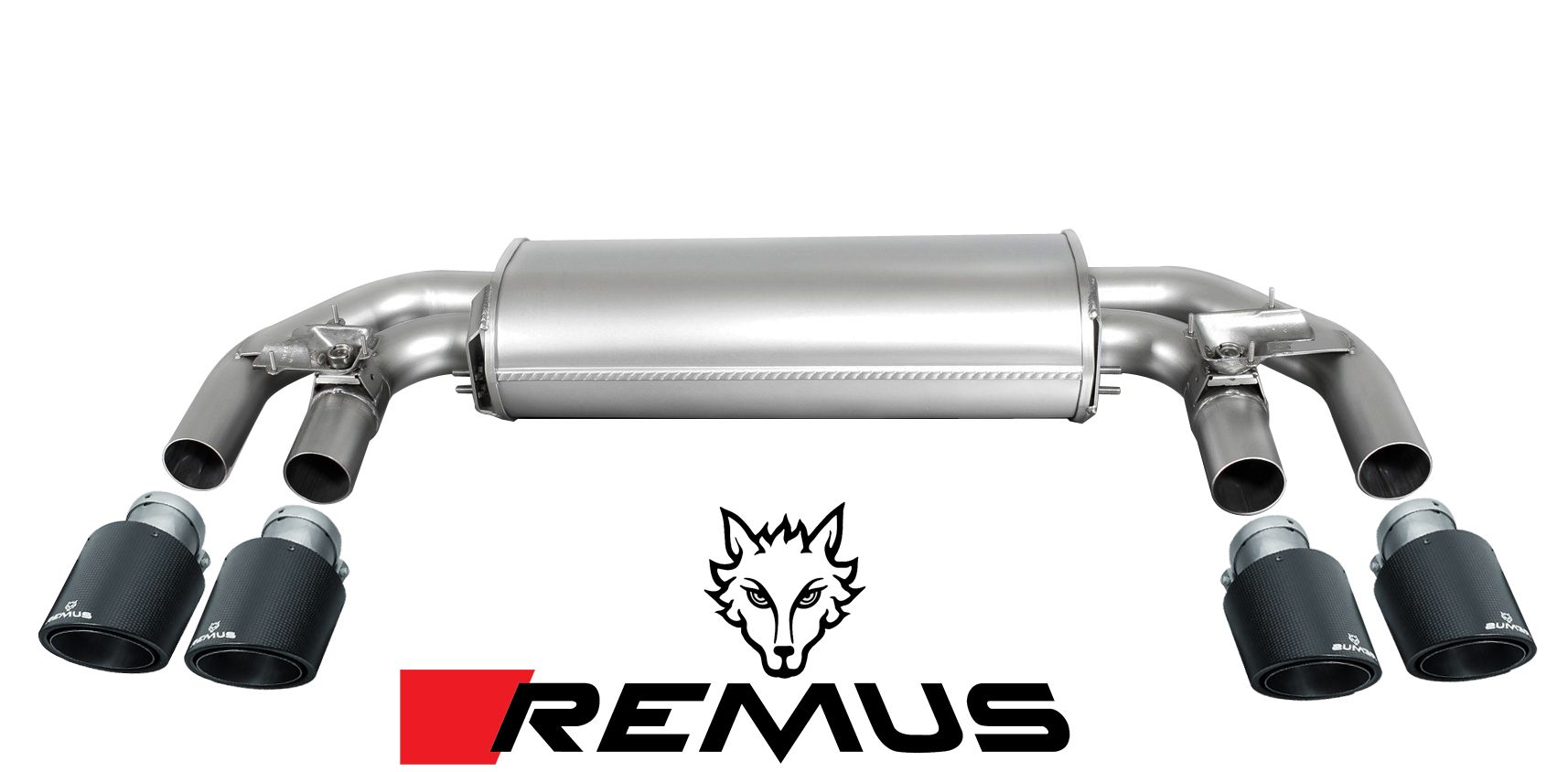 REMUS Sport Exhaust for 2015+ VW Golf R [Mk VII] 956014 0500